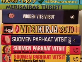 Vitsikirjat 2,-/kpl, Muut kirjat ja lehdet, Kirjat ja lehdet, Jyväskylä, Tori.fi
