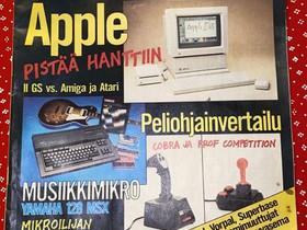 Mikrobitti lehti helmikuu 2/87, Muut kirjat ja lehdet, Kirjat ja lehdet, Alavus, Tori.fi