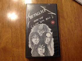 Metallica - Cliff 'Em All VHS - Vain nouto, Elokuvat, Jyväskylä, Tori.fi