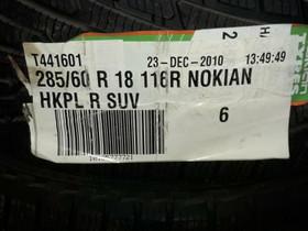 285/60R18 Nokian R SUV 4kpl, Renkaat ja vanteet, Kuopio, Tori.fi