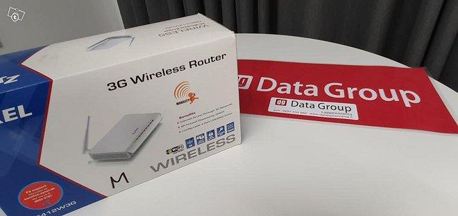 Zyxel NBG-412W3G Wireless router