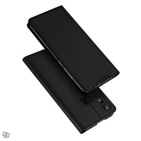 Asus Zenfone Max Pro M2 ZB631KL Kotelo Dux Musta