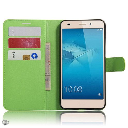 Huawei Honor 7 Lite Kotelo Vihreä Lompakko