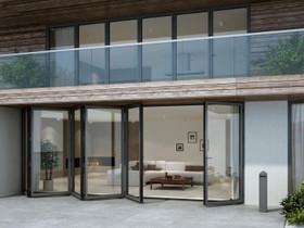 Uudet alumiini taitto-ovet. Parhaat hinnat, Ikkunat, ovet ja lattiat, Rakennustarvikkeet ja työkalut, Helsinki, Tori.fi