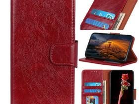 Samsung Galaxy A50 Suojakotelo Punainen Nahka, Puhelintarvikkeet, Puhelimet ja tarvikkeet, Pori, Tori.fi