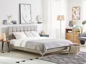 Parisänky ruskeanharmaa 180 x 200 cm AMBERT, Sängyt ja makuuhuone, Sisustus ja huonekalut, Tuusula, Tori.fi