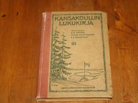 Kansakoulun lukukirja, Oppikirjat, Kirjat ja lehdet, Merikarvia, Tori.fi