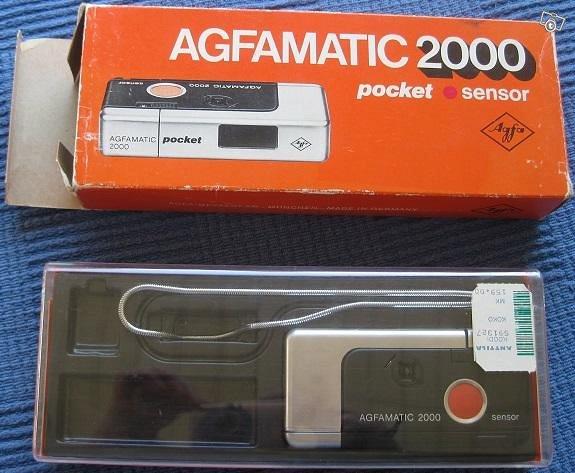 Agfamatic 2000 pocket sensor kamera