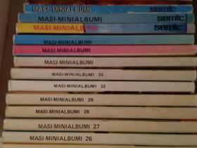 Masi mini-albumit, Sarjakuvat, Kirjat ja lehdet, Kajaani, Tori.fi