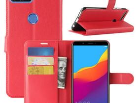 Huawei Honor 7C Lompakkokotelo Punainen, Puhelintarvikkeet, Puhelimet ja tarvikkeet, Pori, Tori.fi