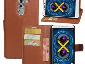 Huawei Honor 6x Lompakkokotelo Ruskea, Puhelintarvikkeet, Puhelimet ja tarvikkeet, Pori, Tori.fi