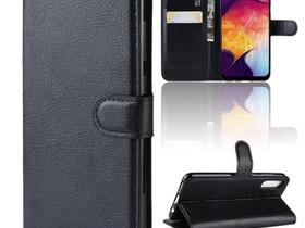 Samsung Galaxy A50 Kotelo PU-Nahka Musta, Puhelintarvikkeet, Puhelimet ja tarvikkeet, Pori, Tori.fi