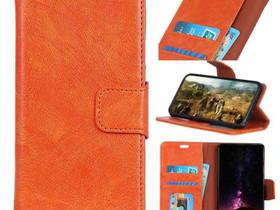 Samsung Galaxy S10+ Nahkakotelo Oranssi, Puhelintarvikkeet, Puhelimet ja tarvikkeet, Pori, Tori.fi