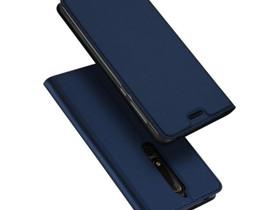 Nokia 6 (2018) Kotelo Dux Ducis Tummansininen, Puhelintarvikkeet, Puhelimet ja tarvikkeet, Pori, Tori.fi
