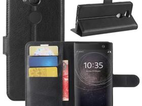Sony Xperia XA2 Lompakkokotelo Musta, Puhelintarvikkeet, Puhelimet ja tarvikkeet, Pori, Tori.fi