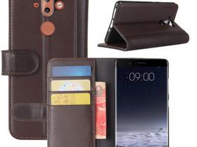 Nokia 8 Sirocco Lompakkokotelo Ruskea Nahka, Puhelintarvikkeet, Puhelimet ja tarvikkeet, Pori, Tori.fi