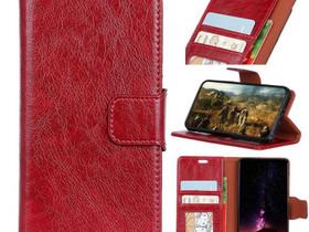 Samsung Galaxy S9 Nahkakotelo Punainen, Puhelintarvikkeet, Puhelimet ja tarvikkeet, Pori, Tori.fi