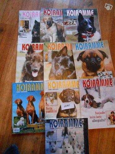 Koiramme -lehtiä vuodelta 2001 10 kpl