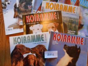 Koiramme -lehtiä vuodelta 2002 8 kpl, Lehdet, Kirjat ja lehdet, Vaasa, Tori.fi