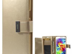 Samsung Galaxy S5 Kotelo Rich Diary Kulta, Puhelintarvikkeet, Puhelimet ja tarvikkeet, Pori, Tori.fi