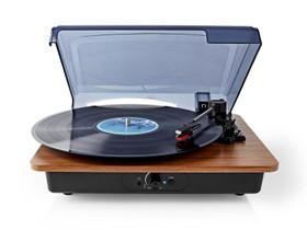 Nedis®-levysoittin Bluetooth®, Audio ja musiikkilaitteet, Viihde-elektroniikka, Harjavalta, Tori.fi