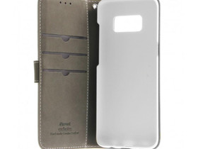 Samsung Galaxy S8+ Nahkakotelo Insmat Valkoinen, Puhelintarvikkeet, Puhelimet ja tarvikkeet, Pori, Tori.fi
