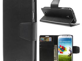 Samsung Galaxy S4 Musta Sonata Lompakkokotelo, Puhelintarvikkeet, Puhelimet ja tarvikkeet, Pori, Tori.fi