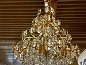 Iso kristallikruunu 25 lamppua, Valaisimet, Sisustus ja huonekalut, Turku, Tori.fi