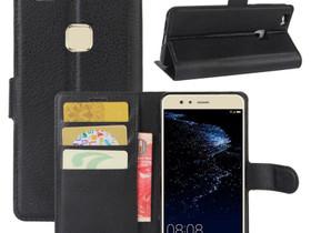 Huawei P10 Lite Kotelo Musta Lompakko, Puhelintarvikkeet, Puhelimet ja tarvikkeet, Pori, Tori.fi
