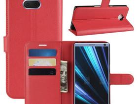 Sony Xperia 10 Plus Kotelo Punainen Lompakko, Puhelintarvikkeet, Puhelimet ja tarvikkeet, Pori, Tori.fi