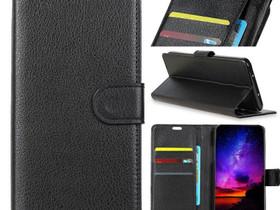 Sony Xperia L3 Suojakotelo Musta Lompakko, Puhelintarvikkeet, Puhelimet ja tarvikkeet, Pori, Tori.fi