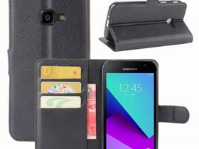 Samsung Galaxy Xcover 4 Lompakkokotelo Musta, Puhelintarvikkeet, Puhelimet ja tarvikkeet, Pori, Tori.fi