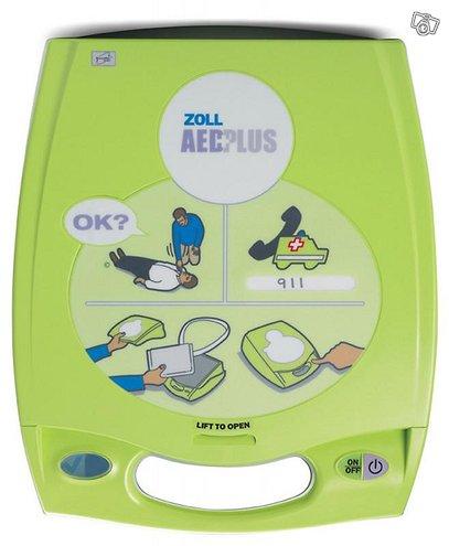 Zoll AED Plus puoliautomaattinen defibrillaattori
