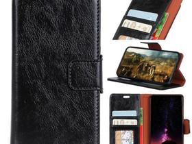 Samsung Galaxy A7 (2018) Nahkakotelo Musta, Puhelintarvikkeet, Puhelimet ja tarvikkeet, Pori, Tori.fi