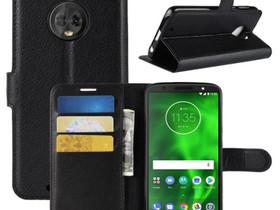 Motorola Moto G6 Suojakotelo Musta Lompakko, Puhelintarvikkeet, Puhelimet ja tarvikkeet, Pori, Tori.fi