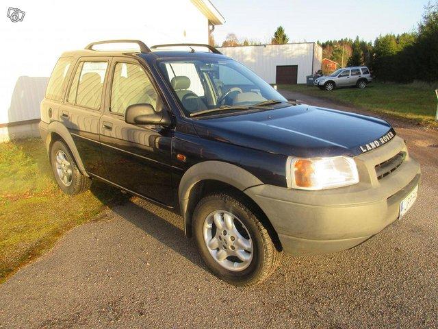 Land Rover Freelander V6 automaatti 2