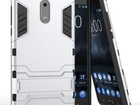 Nokia 6 Suojakuori 2-osainen Hopea, Puhelintarvikkeet, Puhelimet ja tarvikkeet, Pori, Tori.fi