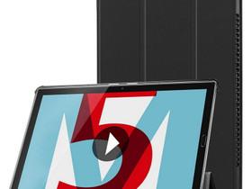 Huawei MediaPad M5 10 10.8 Kotelo Musta, Puhelintarvikkeet, Puhelimet ja tarvikkeet, Pori, Tori.fi