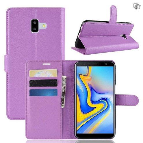 Samsung Galaxy J6+ (2018) Lompakkokotelo Violetti