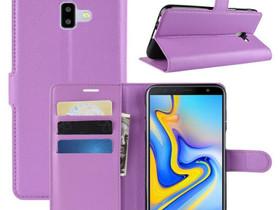 Samsung Galaxy J6+ (2018) Lompakkokotelo Violetti, Puhelintarvikkeet, Puhelimet ja tarvikkeet, Pori, Tori.fi