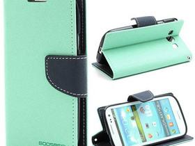 Samsung Galaxy S3 Syaani Fancy Lompakkokotelo, Puhelintarvikkeet, Puhelimet ja tarvikkeet, Pori, Tori.fi