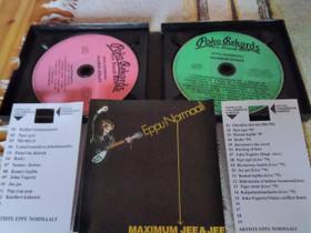 Eppu Normaali Tupla CD Maximum Jee&Jee, Musiikki CD, DVD ja äänitteet, Musiikki ja soittimet, Rovaniemi, Tori.fi