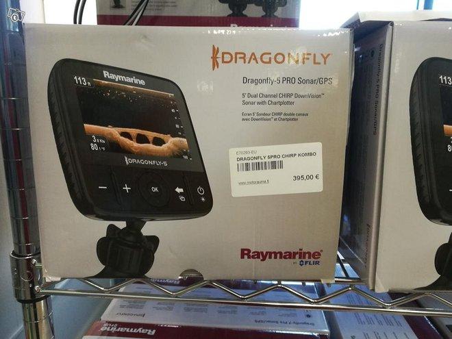 Raymarine Draconfly-5 PRO karttaplotteri / kaiku