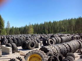 Käytetyt traktorin työkoneen peräkärryjen renkaat, Renkaat ja vanteet, Jyväskylä, Tori.fi