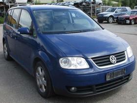 Purkuauto: VW TOURAN 1,9TDI -2005, Autovaraosat, Auton varaosat ja tarvikkeet, Tampere, Tori.fi