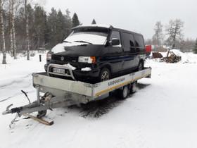 Traileri kantavuus 2250kg lava 5m/2.2m, Kuljetuskalusto, Työkoneet ja kalusto, Sotkamo, Tori.fi