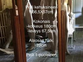 Kokovartalo peili, Liikkeille ja yrityksille, Hausjärvi, Tori.fi