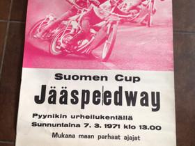 Kisajulisteita Prätkä Vintage n. 70-80 luku, Moottoripyörän varaosat ja tarvikkeet, Mototarvikkeet ja varaosat, Lohja, Tori.fi