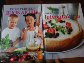 Koko perheen ruokakirja + leivontakirja, Harrastekirjat, Kirjat ja lehdet, Imatra, Tori.fi