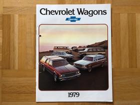 Esite Chevrolet Wagon 1979 Caprice Classic, Malibu, Harrastekirjat, Kirjat ja lehdet, Espoo, Tori.fi
